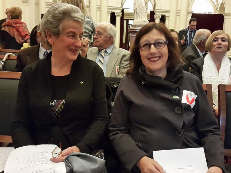 Mrs Nina Bassat and Dr Helen Light