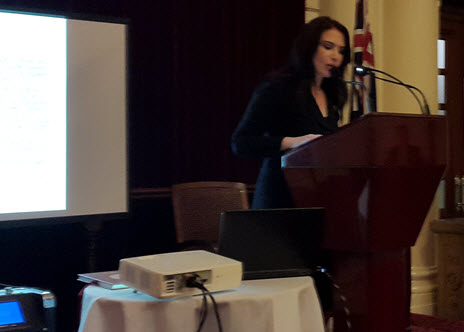 Eyvah Dafaranos, keynote speaker