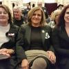 Mrs T. Mavroudis, Mrs A. Garivaldis, Mrs E. Dafaranos (main speaker)