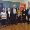 Thessaloniki Association Committee and speakers on the day